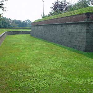 Fort Jay, Governor's Island, Dry Canal