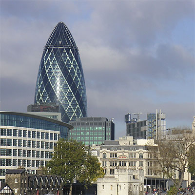 Photo of Gherkin, Norman Foster