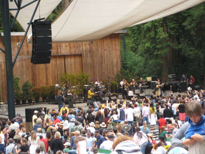 Os Mutantes in Stern Grove